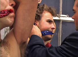 Agent bondage play spy undercover vampire